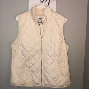 Old Navy White/Cream Vest